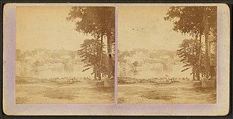 Topsham, Maine - Image: Topsham from Mason St, by Barnes, G. W. (George W.)