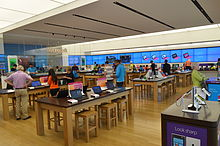 Microsoft Store in Yorkdale Toronto, the first store outside the U.S.