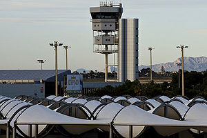 Alicante–Elche Airport - Control Tower - Alicante Airport