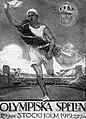 Torsten Schonberg, illustrant l'affiche des compétitions athlétiques des JO de 1912.jpg