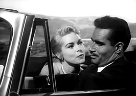 Janet Leigh en Charlton Heston in Touch of Evil