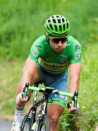 Sagan in maglia verde al Tour de France 2016