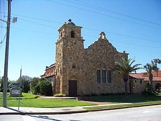 Tourist Church United States historic place