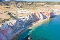 Tourlos Beach on Milos Island, Greece.jpg