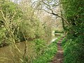 Tow path north of Dunhampstead Tunnel - geograph.org.uk - 466810.jpg