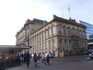 Huddersfield - Huddersfield Town Hall