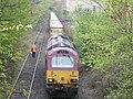 Train outside Powderhall Refuse Depot - geograph.org.uk - 1839332.jpg