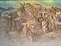 Trencin Dom armady freska2 Gajdos 1985.jpg