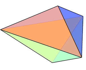 Triangular bipyramid - Image: Triangular bipyramid