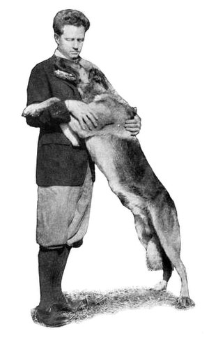 Laurence Trimble - Trimble and Strongheart (1921)