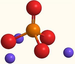 Trisodium phosphate - Image: Trisodium phosphate 3D