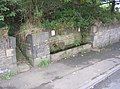 Trough, Clough Lane, Rastrick - geograph.org.uk - 231585.jpg