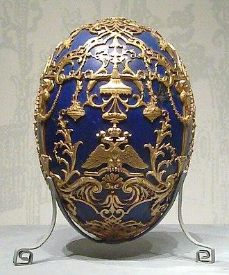 Tsarevich (Fabergé egg) - Image: Tsarevich (Fabergé egg) crop