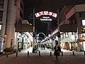 Tsutenkaku-Hondori Shopping Street at night.jpg