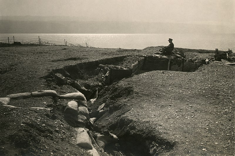 File:Turkish trenches at Dead Sea2.jpg