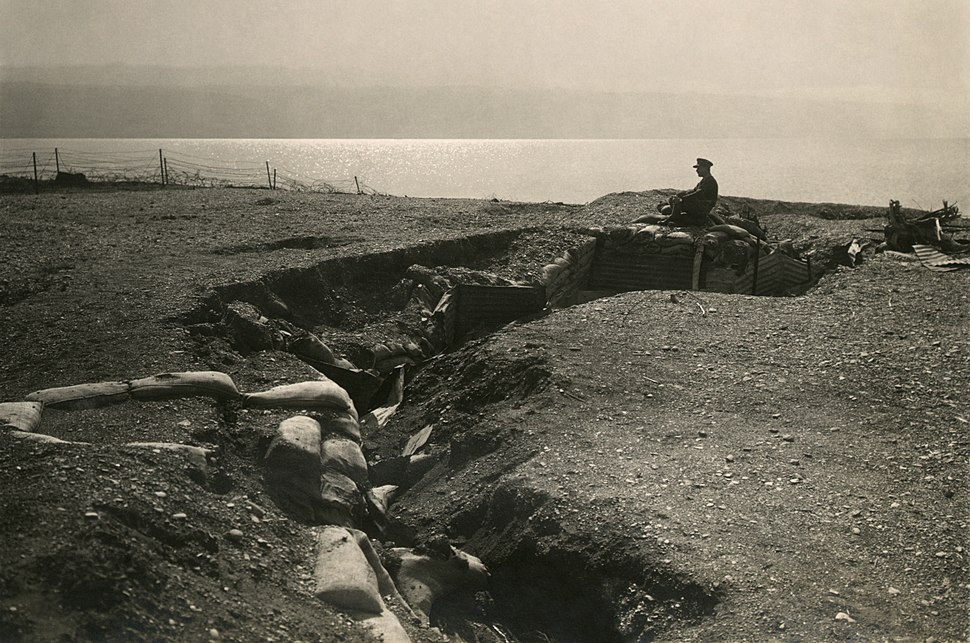 Turkish trenches at Dead Sea2