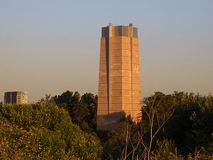 M5 Motorway (Sydney) - M5 East Tunnel ventilation stack at Turrella