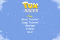Tux Racer for Android screenshot, main menu.png
