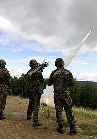Type 91 SAM fire