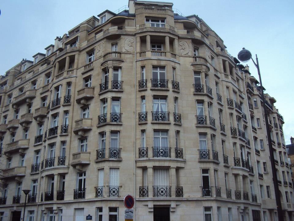 Typická Pařížská architektura