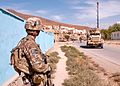 U.S. Army Combat Engineer Conducts Dismounted Patrol in Logar Province, Afghanistan, 10 Oct 2012.jpg