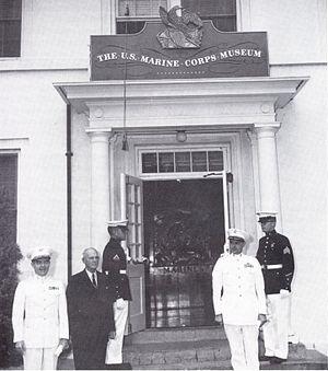 Marine Corps Museum - Image: U.S. Marine Corps Museum in Quantico, Virginia 001