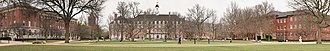 University of Illinois at Urbana–Champaign - Panorama facing north on UIUC's Main Quad