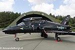 UK Air Force BAE Hawk (XX315) parked at Wittmundhafen Air Base.jpg