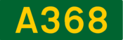 A368 road shield