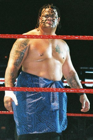 Umaga (wrestler) - Fatu at a WWE Raw house show