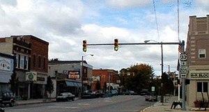 Churubusco, Indiana - Downtown Churubusco