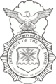 USAF Security Forces badge (black and white art).png