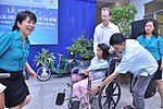 USAID Project Supports Rehabilitation Department for Children and Wheelchair Distribution in Danang (9305236872).jpg