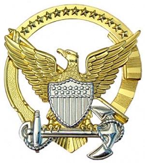 Command at Sea insignia - U.S. Coast Guard Command Afloat insignia