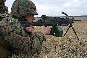 Marine Corps Combat Utility Uniform - Image: USMC M249 SAW PIP