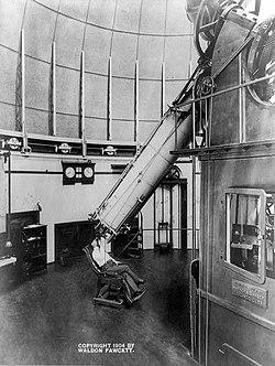 Old Fashioned Telescope Uk Astanomical