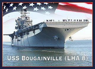 USS <i>Bougainville</i> (LHA-8) America-class amphibious assault ship
