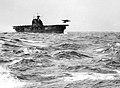USS Hornet (CV-8) launching a B-25B Mitchell bomber during the Doolittle Raid on April 18, 1942.jpg