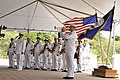 USS Missouri Memorial Association commemorates 68th anniversary of the end of World War II, unveils statue of Fleet Adm. Chester W. Nimitz 130902-N-PJ759-153.jpg