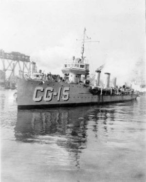 Monaghan in Coast Guard service