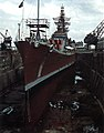 USS Newport News (CA-148) at the Norfolk Navy Yard in 1965.jpg