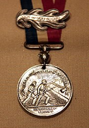 US Colored Troops medal - 1865 - Smithsonian Museum of American History - 2012-05-15