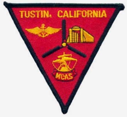 US Marine Corps Air Station Tustin badge