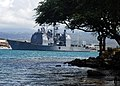 US Navy 090807-N-0995C-014 The Ticonderoga-class guided-missile cruiser USS Chosin (CG 65) departs Naval Station Pearl Harbor as she deploys to join the USS Nimitz Carrier Strike Group in the western Pacific Ocean.jpg