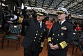 US Navy 091203-N-8273J-061 Chief of Naval Operations (CNO) Adm. Gary Roughead speaks with Adm. Guillermo Barrera, commander of the Colombian Naval Forces, during a promotion ceremony.jpg