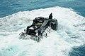US Navy 100725-N-7680E-088 An amphibious assault vehicle exits the well deck of USS Iwo Jima (LHD 7).jpg