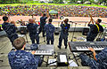 US Navy 110528-N-KB563-497 The Pacific Partnership Band performs for a crowd of more than 3,000 people at Kilege Stadium during a Pacific Partnersh.jpg