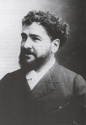 Octave Uzanne - Photography by Nadar (c. 1890)
