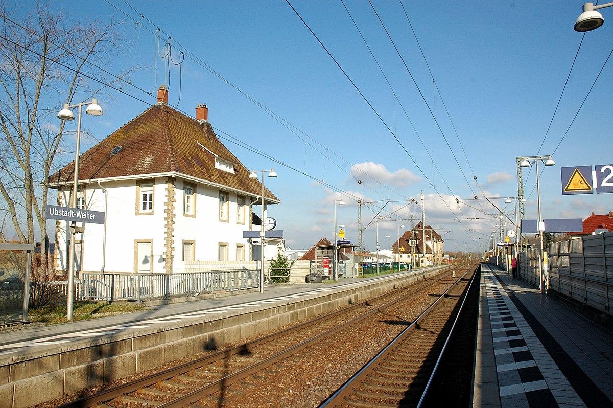 Bahnhof Ubstadt Weiher
