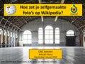 Uitleg foto's uploaden Wikimedia Commons, Wikicafe Tilburg, 04-01-2018.pdf